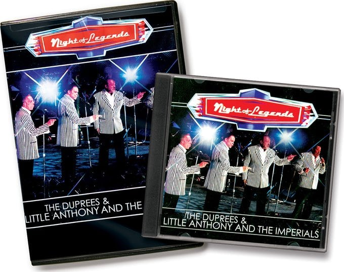 The Duprees / Little Anthony & The Imperials -