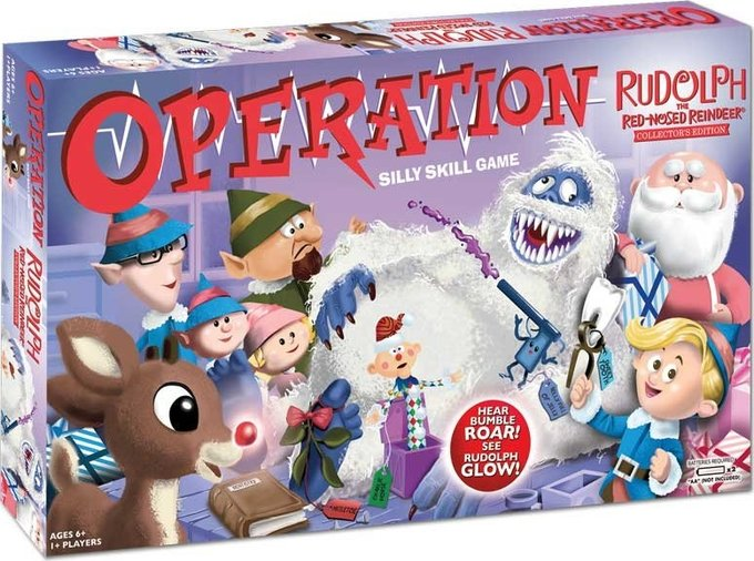 Rudolph the Red Nosed Reindeer - Operation