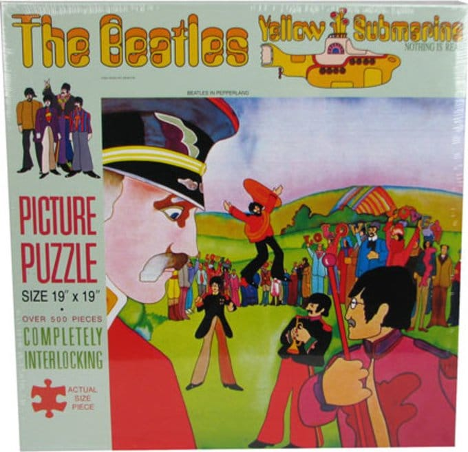 Yellow Submarine: 500-Piece Puzzle