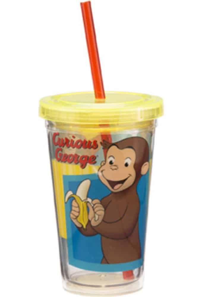 Curious George - 12 oz. Acrylic Travel Cup