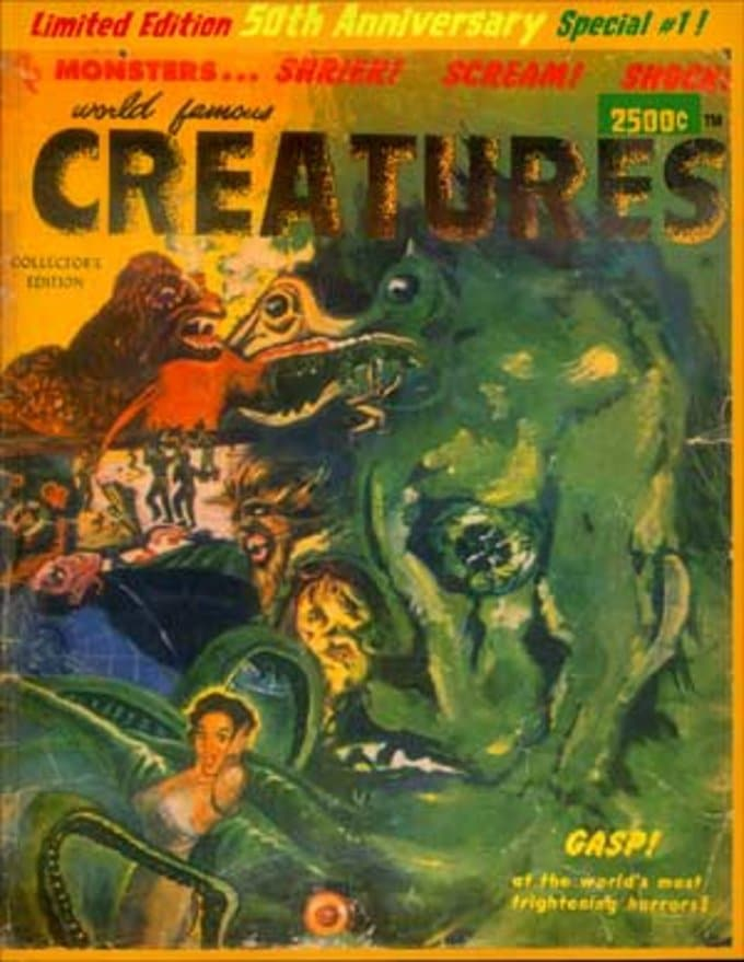 World Famous Creatures #1 (Limited Edition - 50th