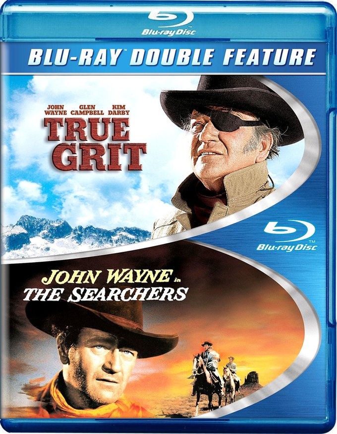 True Grit / The Searchers (Blu-ray)
