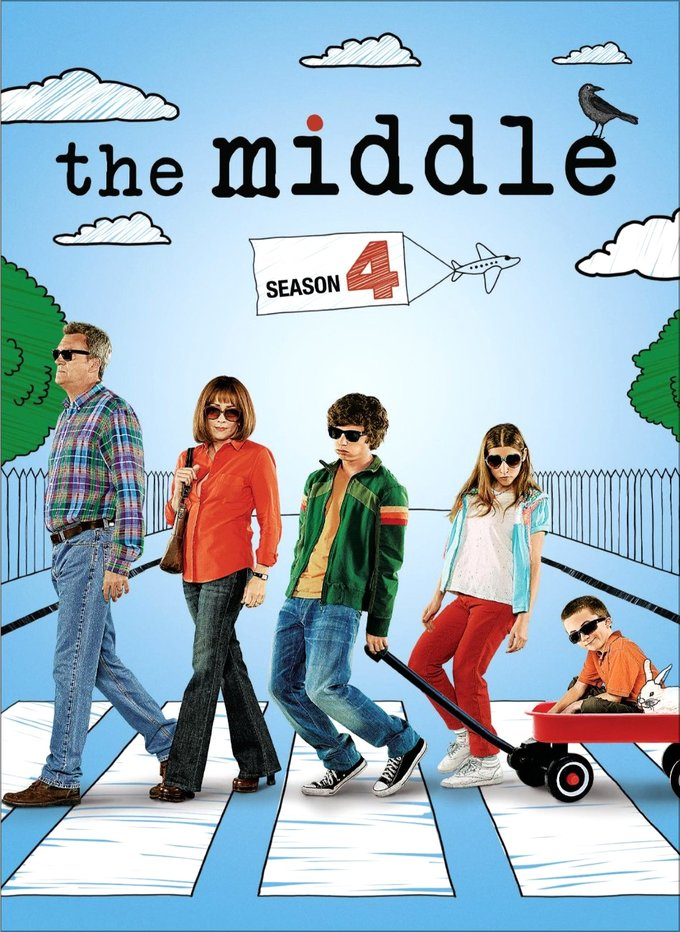 The Middle - Season 4 (3-DVD)
