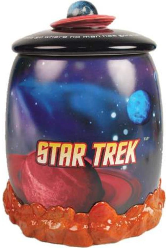 Enterprise In Space Cookie Jar