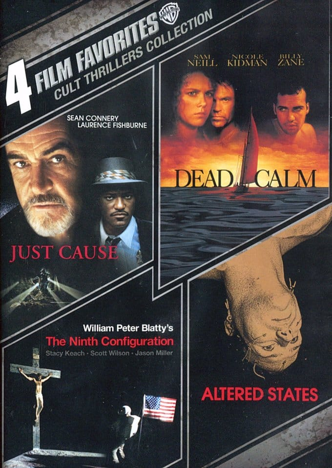 4 Film Favorites: Cult Thrillers Collection (Just
