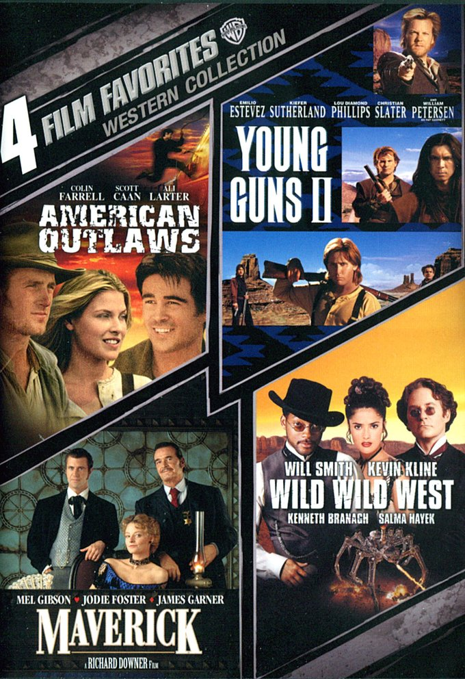 4 Film Favorites: Western Collection (American