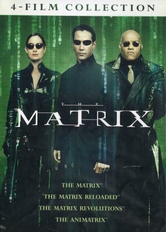 4 Film Favorites: Matrix Collection (Matrix /