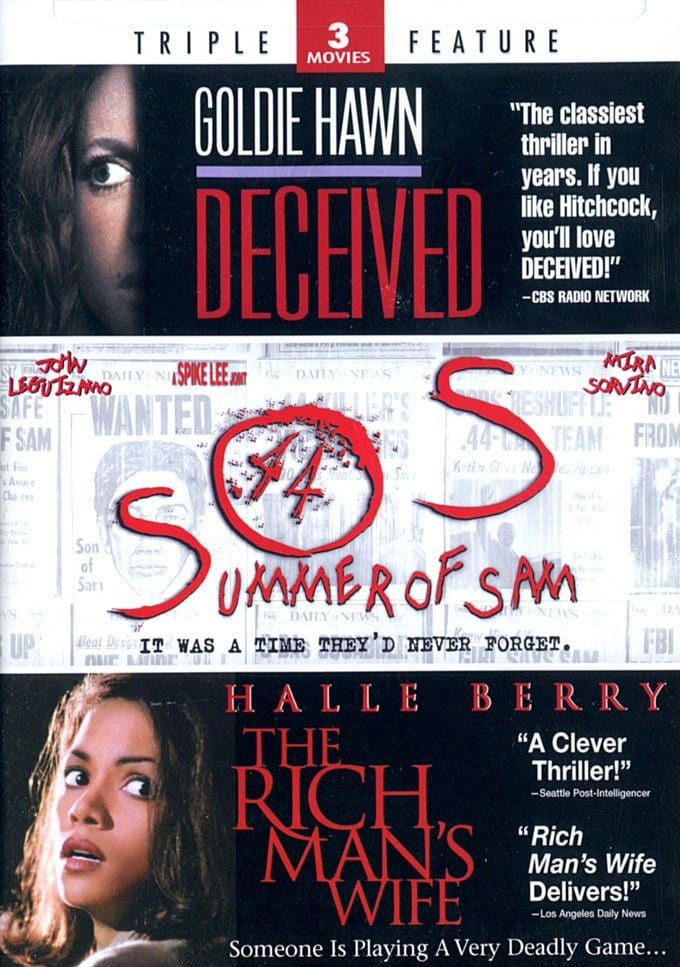 Deceived / Summer of Sam / The Rich Man's Wife
