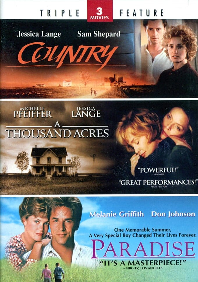 Country / A Thousand Acres / Paradise (2-DVD)