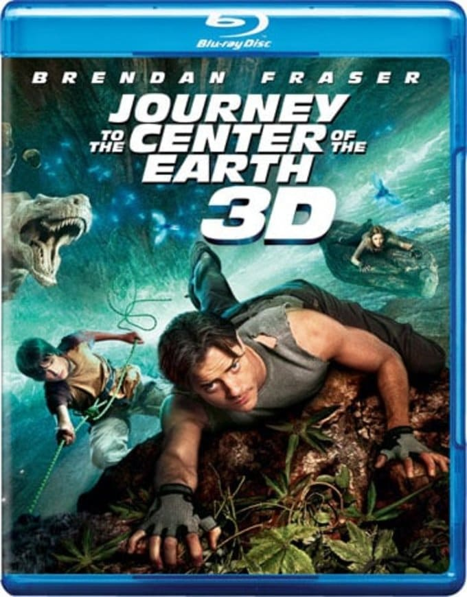 Journey to the Center of the Earth 3D (Blu-ray)