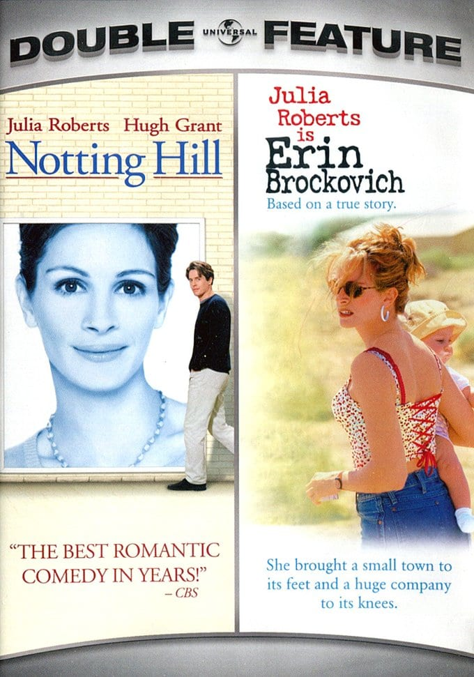 Julia Roberts Double Feature: Notting Hill / Erin