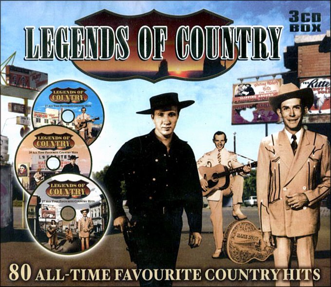 Legends of Country (3-CD)