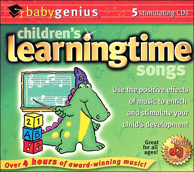 Children's Learningtime Songs (5-CD)