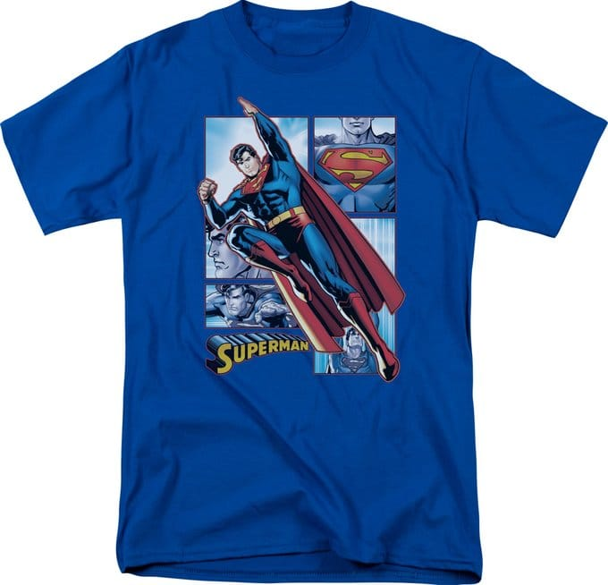 Superman - Panels - T-Shirt