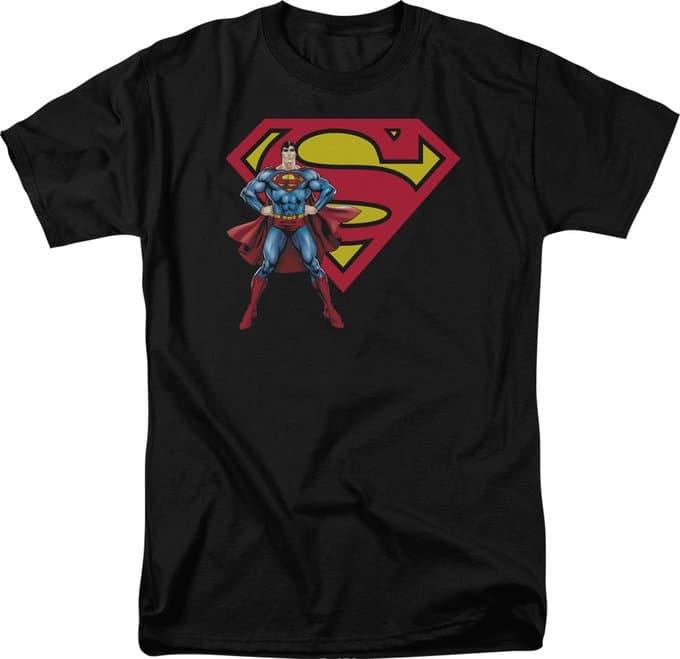 Superman - Superman & Logo - T-Shirt