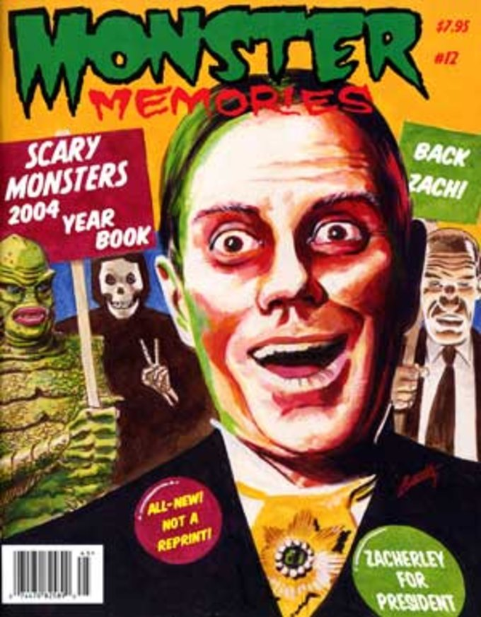 Monster Memories #12 (2004 Scary Monsters