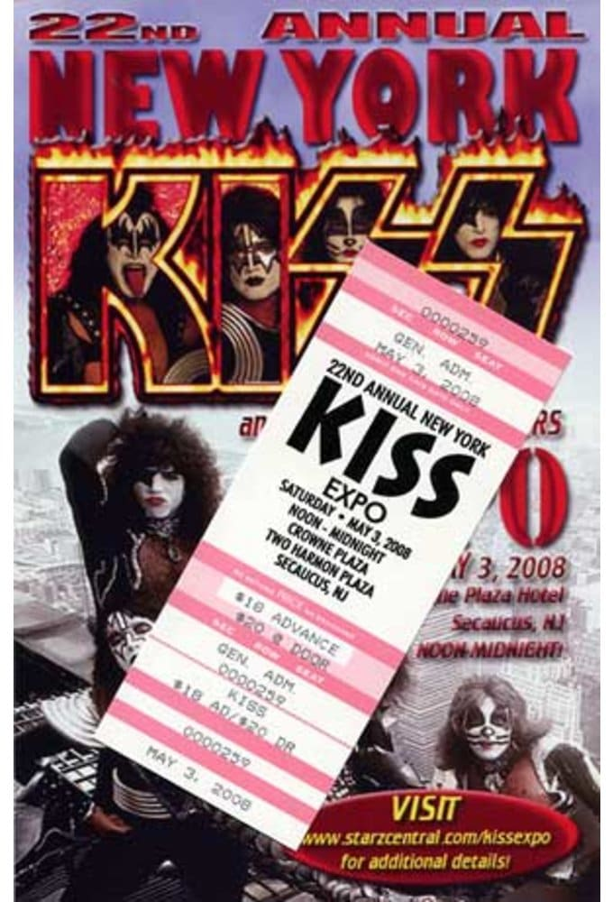 KISS - Convention Guide & Ticket: 22nd Annual New