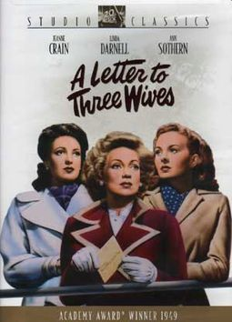 a letter to three wives a letter to three dvd 1949 starring darnell 12482