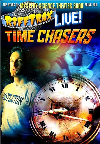 Rifftrax Life Time Chasers Dvd 2017 Starring Kevin