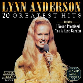Lynn Anderson 20 Greatest Hits Cd 2006 Tee Vee Records