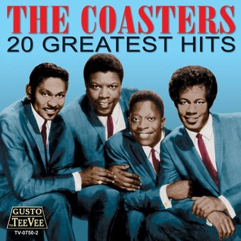 The Coasters 20 Greatest Hits Deluxe Cd 2006 Tee
