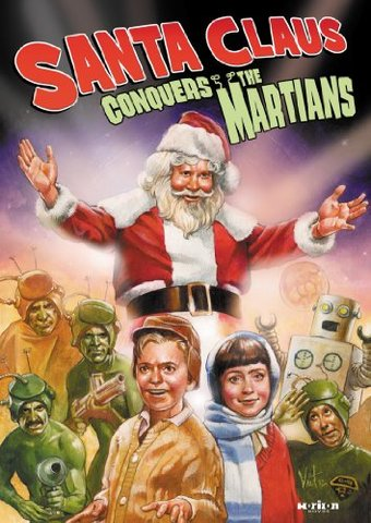 Santa Claus Conquers The Martians Dvd 1964 Directed By