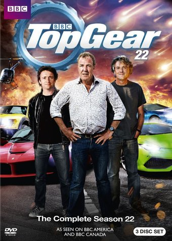top gear complete season 22 4 dvd 2016 television on starring the stig jeremy clarkson. Black Bedroom Furniture Sets. Home Design Ideas