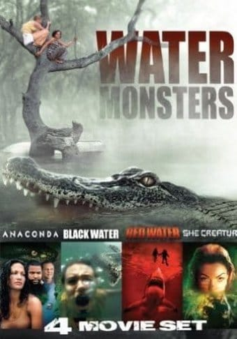 water monsters 4movie collection anaconda black water