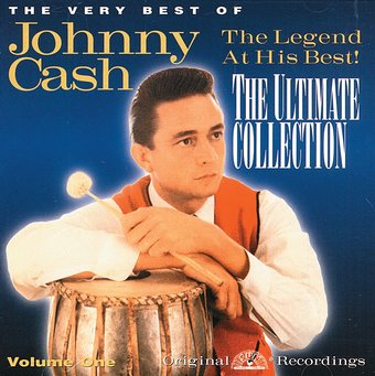 very best of johnny cash the ultimate collection volume 1 limited distribution cd 2000. Black Bedroom Furniture Sets. Home Design Ideas