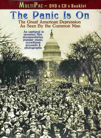 Panic Is On: The Great American Depression As Seen By The ... A Common Man Dvd