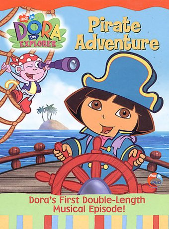 Dora The Explorer Pirate Adventure Dvd 2004