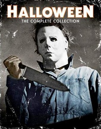 Halloween Complete Collection Blu Ray 2014 Starring