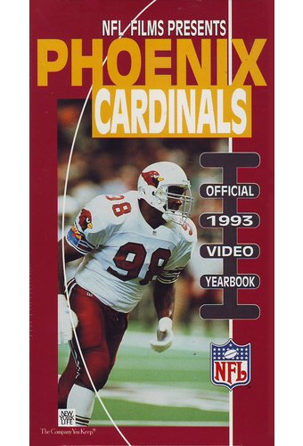 Football  Phoenix Cardinals: Official 1993 Video Yearbook VHS  NFL Films  OLDIES.com