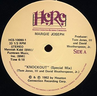 Margie Joseph Knockout Special Mix Lp 1982 Houston