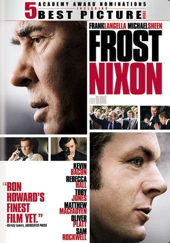 frostnixon dvd 2008 directed by ron howard starring