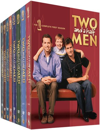 Two and a Half Men - Complete Seasons 1-8 (32-DVD) (2011 ...