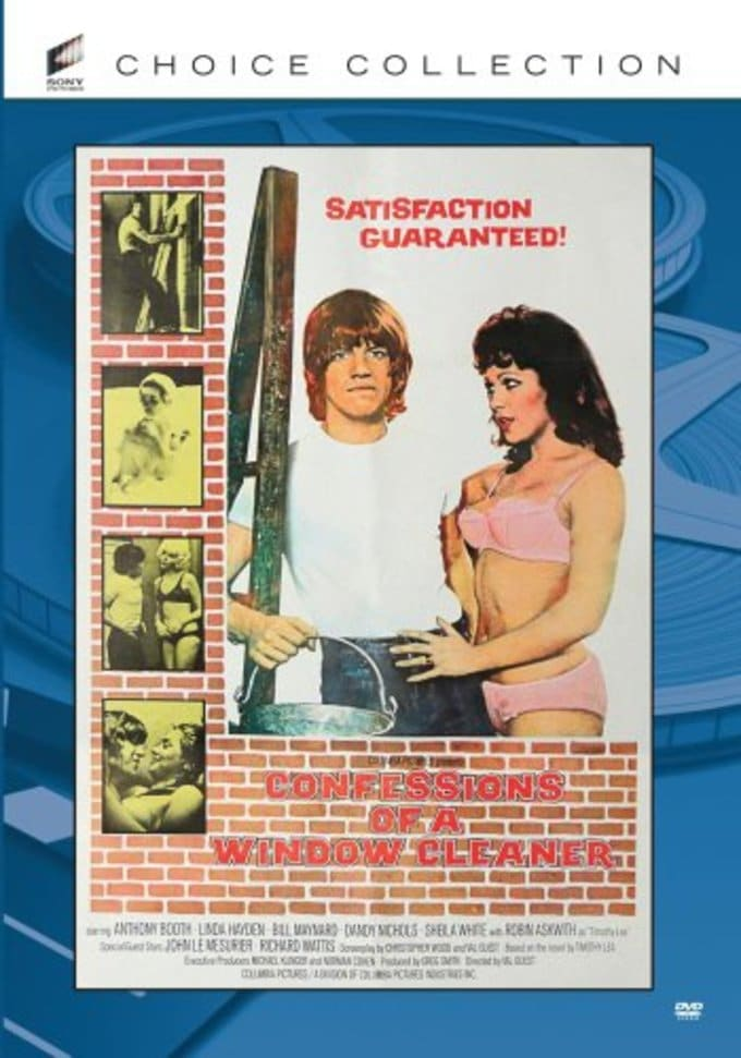 Confessions Of A Window Cleaner Dvd R 1974 Directed By